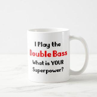 Double bassiste mug