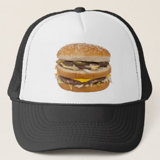 Double casquette de cheeseburger