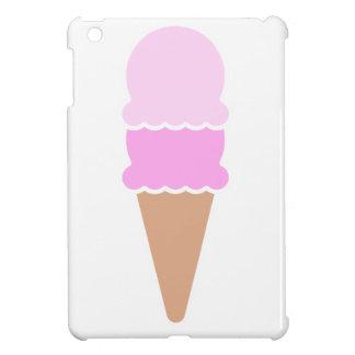Double cornet de crème glacée de scoop - roses coque iPad mini