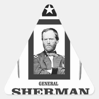 double onde entretenue de Sherman de lame Sticker Triangulaire