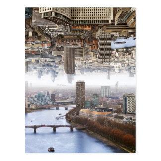 Double paysage de Londres Carte Postale