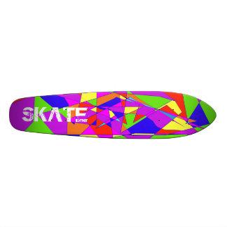 Double planche à roulettes d'arc-en-ciel skateoard personnalisé