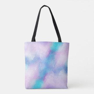 Double sac fourre-tout abstrait à conception du