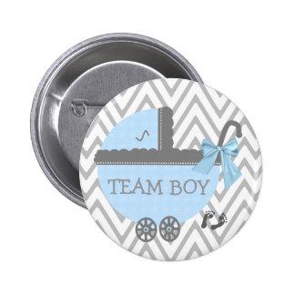 Douche bleue de voiture d'enfant de garçon pin's