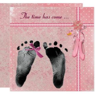 Douche de bébé carton d'invitation  13,33 cm