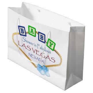 Douche de bébé dans le sac de cadeau de Las Vegas