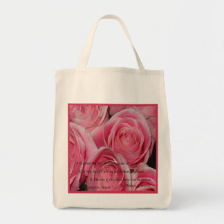 Douche des roses, St Therese, fourre-tout Sacs