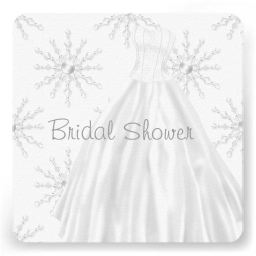 douche nuptiale blanche de robe de mariage de carton d