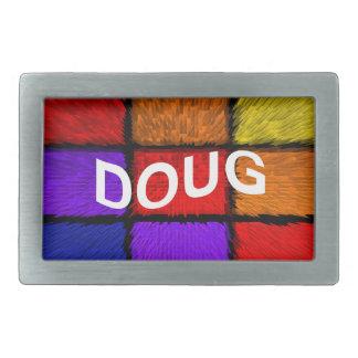 DOUG BOUCLES DE CEINTURE RECTANGULAIRES
