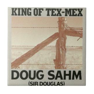 Doug Sahm le Roi Of Tex-Mex Petit Carreau Carré