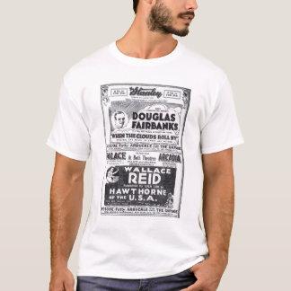 Douglas Fairbanks 1919 T-shirts vintages d'annonce