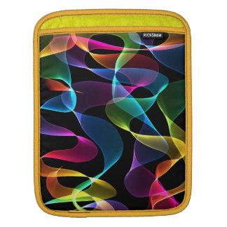 Douille abstraite de couleur d'arc-en-ciel housse pour iPad