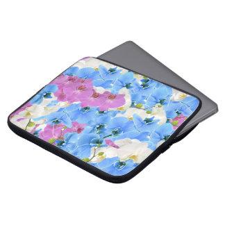 Douille colorée florale d'ordinateur portable de protection pour ordinateur portable