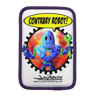 Douille contraire de comprimé de robot housse pour iPad mini