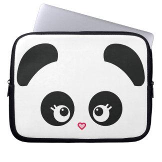 Douille d ordinateur portable de Panda® d amour Housses Pour Ordinateur Portable