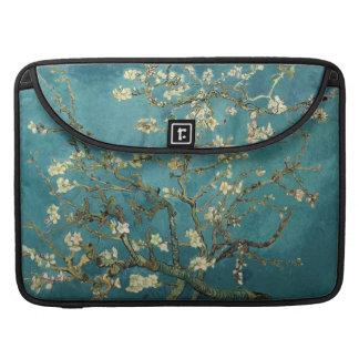 Douille d'aileron de Macbook de fleur d'amande pro Poches Pour Macbook Pro