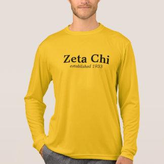 Douille de Chi de Zeta longue T-shirt
