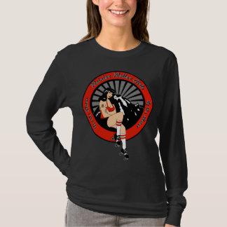 Douille de dames de RRG longue T-shirt