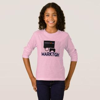 Douille de fille de MarkTGH longue T-shirt