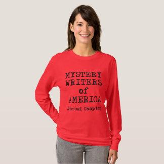 Douille de la femme de T-shirt de MWA la longue