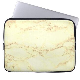 Douille de marbre d'ordinateur portable housse ordinateur portable