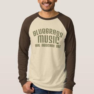 Douille de musique de Bluegrass longue T-shirt