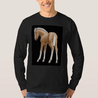 Douille de poulain de Haflinger longue T-shirt