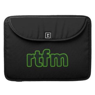 douille de RTFM Macbook Poches Pour Macbook
