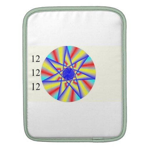 douille d'éclat d'arc-en-ciel de l'iPad 121212 Poches Pour iPad