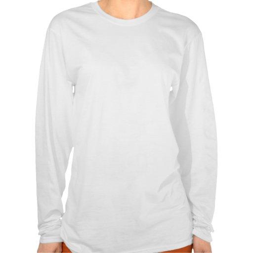 "Douille des dames aa Hoody de ""EBM Logo_2"" longue  T-shirts"