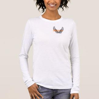 Douille des femmes de base d'Ironheart la longue T-shirt À Manches Longues