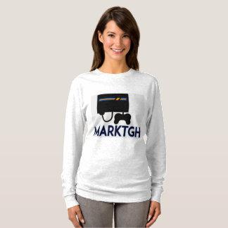Douille des femmes de MarkTGH la longue T-shirt