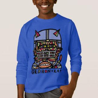 """Douille des garçons du """"gril KAT"""" la longue T-shirt"""