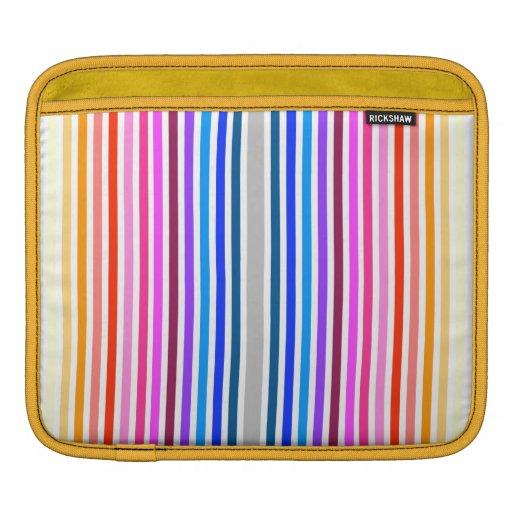 Douille d'iPad d'arc-en-ciel Poches iPad