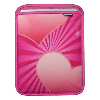 Douille d'iPad d'étoile de coeur Housses iPad