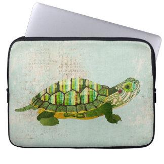 Douille d'ordinateur de tortue de jade trousses ordinateur