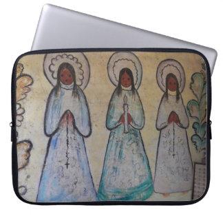 Douille d'ordinateur portable d'ange protection pour ordinateur portable