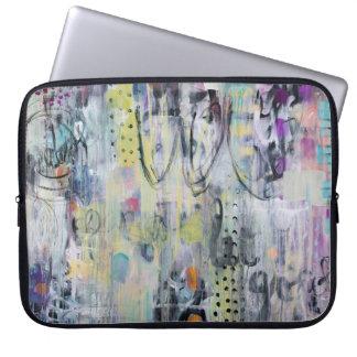 Douille d'ordinateur portable d'art abstrait housse pour ordinateur portable