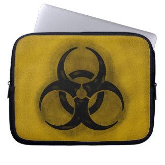 Douille d'ordinateur portable de Biohazard de zomb Housses Ordinateur Portable