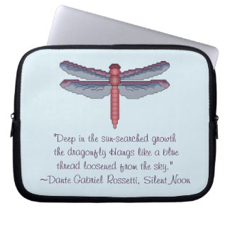 Douille d'ordinateur portable de libellule de Dant Housses Pour Ordinateur Portable