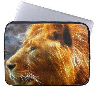 Douille d'ordinateur portable de lion d'imaginaire protection pour ordinateur portable