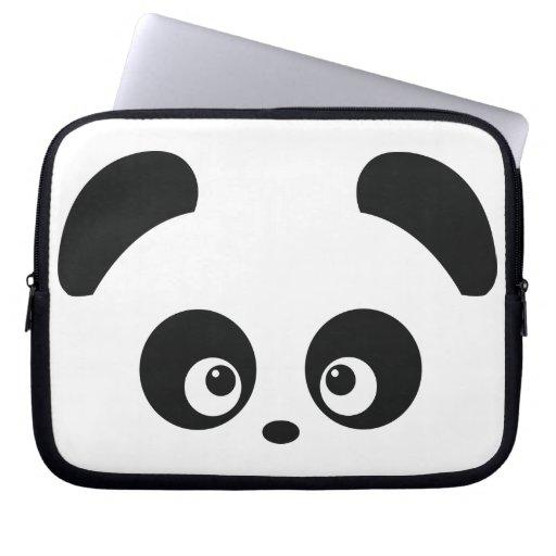 Douille d'ordinateur portable de Panda® d'amour Trousse Pour Ordinateur Portable