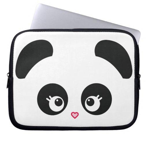 Douille d'ordinateur portable de Panda® d'amour Housses Pour Ordinateur Portable
