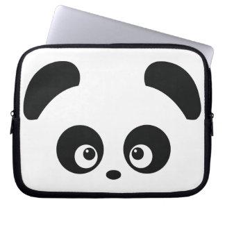 Douille d'ordinateur portable de Panda® d'amour Housse Pour Ordinateur Portable