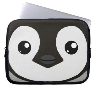 Douille d'ordinateur portable de poussin de pingou housses ordinateur portable