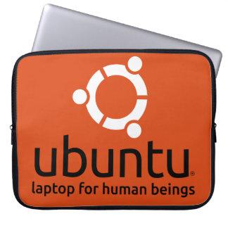 Douille d'ordinateur portable d'Ubuntu Housses Ordinateur