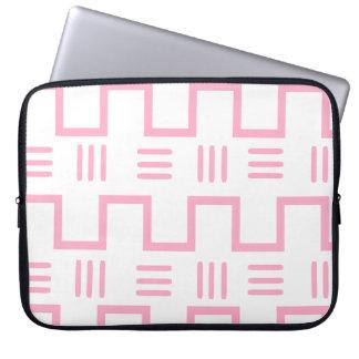 Douille ethnique d'ordinateur portable de tissu de trousse ordinateur