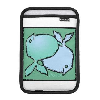 Douille faite sur commande de Poissons R de signe Housse Pour iPad Mini