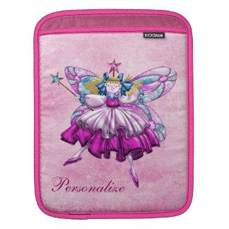 Douille féerique d'iPad de prune rose mignonne de Housses iPad