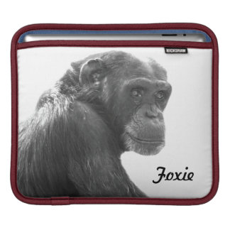 Douille fraîche d'iPad de chimpanzé de Foxie Poches Pour iPad